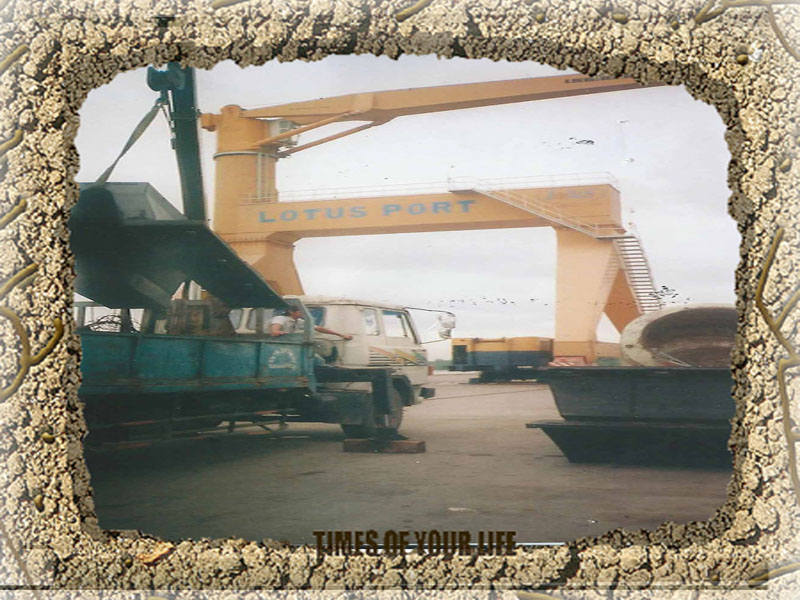 Arch Rubber Fenders for Lotus Port