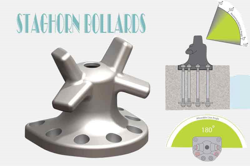 Bollards Staghorn